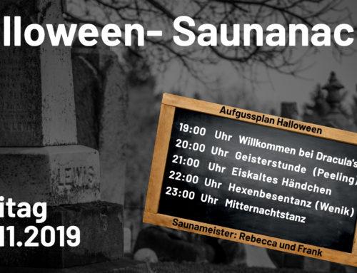 Halloween Saunanacht 2019