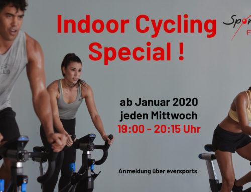 Jeden Mittwoch – Indoor Cycling Special!