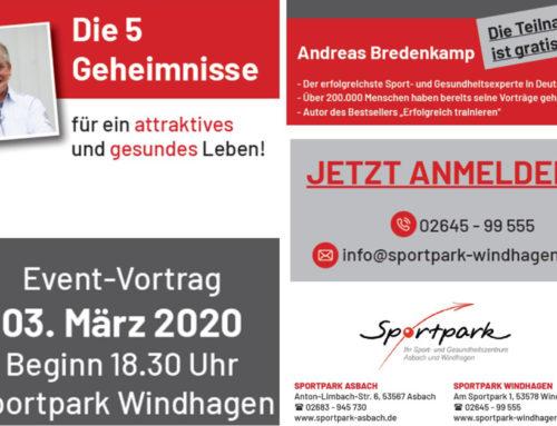 Andreas Bredenkamp bei uns zu Gast am 03.03.2020