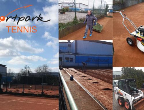 Frühjahrsinstandsetzung Tennis